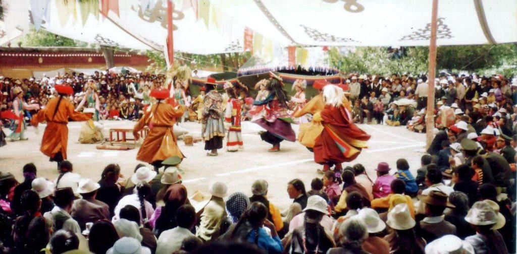 Tibetan Culture Lama Dancing